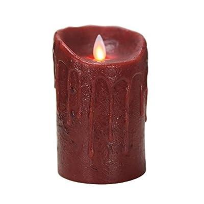 Boston Warehouse Mystique Primitive Flameless Pillar Candle