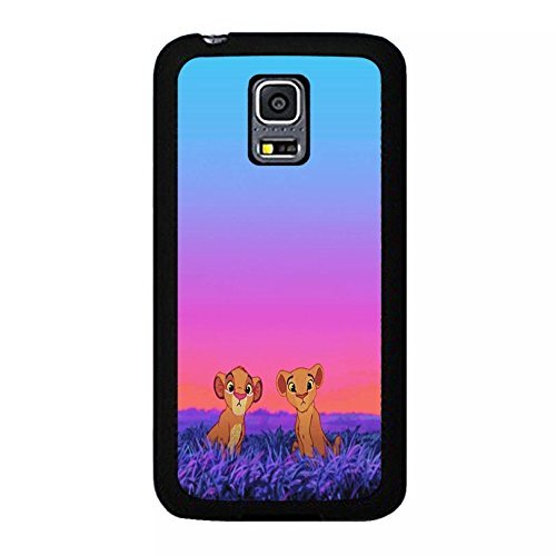 Case Shell Cute Funny Disney Cartoon The Lion King Phone Case Cover for Samsung Galaxy S5 Mini Anime Popular