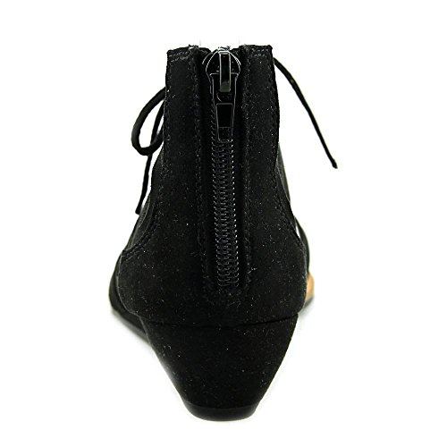 Carlos by Katarina Sandals Womens Black Casual Fabric Carlos Santana Open Toe Flat vrrdIq