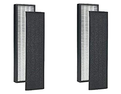 2 pack - true hepa replacement filter for germguardian flt5000 ...