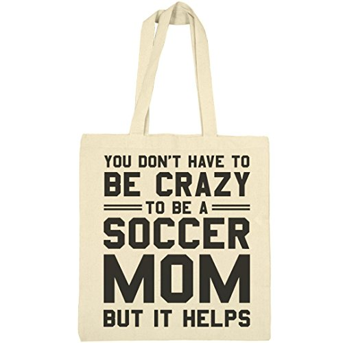 Crazy Soccer Mom Bag: Liberty Bargain Tote Bag