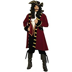 Forum Designer Deluxe Pirate Captain Costume, Multi, Extra Large