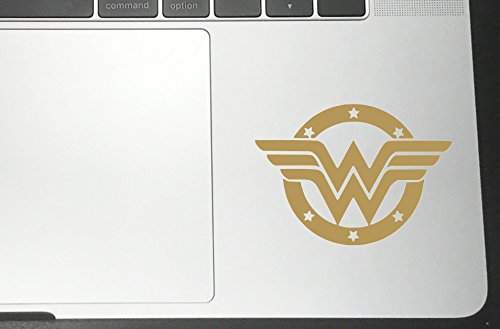 Wonder Window (WONDER WOMAN Star Vinyl Sticker Decals for Car bumper window macbook laptop (2