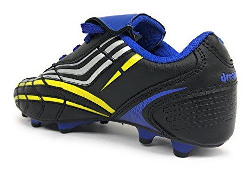 Jongens Meisjes Klein Kind / Groot Kind 8059 Voetbal Outdoor Atletiek Veterschoenen Zwart / Koningsblauw / Geel