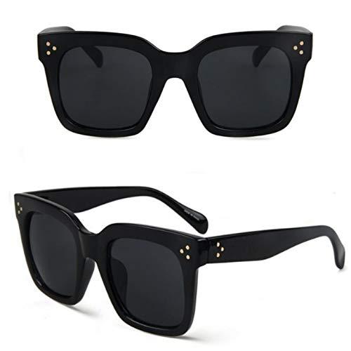 No Name Ltd Gafas de sol cuadradas negras para mujer Celeb de gran tamaño retro vintage 2019 Ibiza Festival