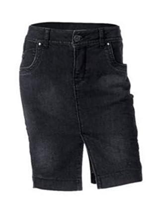 Falda vaquera de Heine - Color Negro Black Denim - algodón, Denim ...