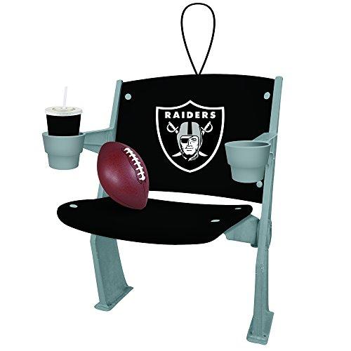 (Team Sports America Oakland Raiders Stadium Chair Ornament)