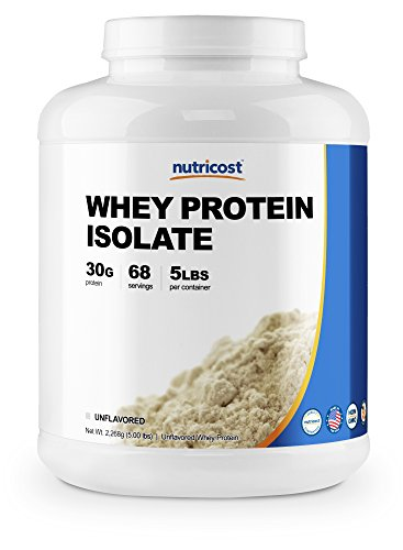 Nutricost Whey Protein Isolate (Unflavored) 5LBS Review