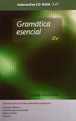 Student CD-ROM for Rojas/Curry' Gramatica esencial, 2nd