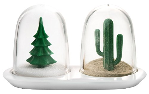 (QUALY Winter Summer Salt & Pepper Shaker Set)