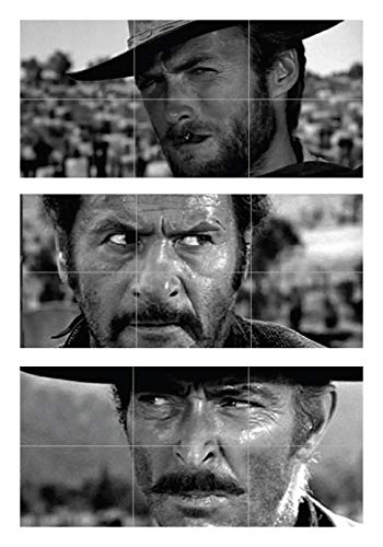 - THE GOOD THE BAD AND THE UGLY CLINT EASTWOOD 3 GIANT POSTERS PRINTS XXXL NC6010