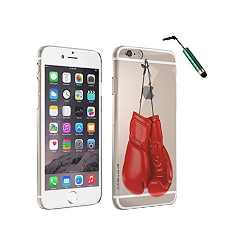 Price comparison product image Boxing Gloves - Space Case with Stylus by New Vibe iPhone SE Clear Cover Case with Stylus