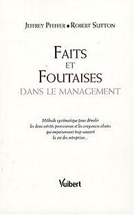 Faits et Foutaises dans le management par Jeffrey Pfeffer