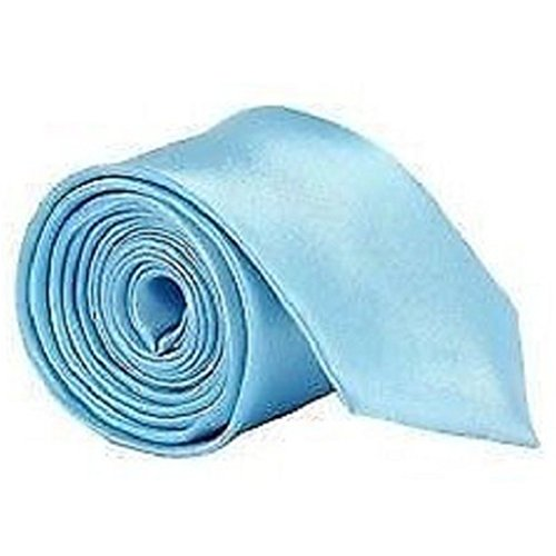 Uniform Color Men Ties Lake Party Solid Pengyu Blue Workwear for Office Necktie gq5zXUw7