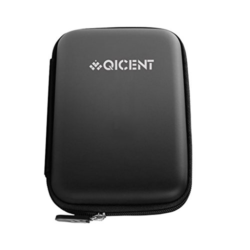 QICENT External Hard Drive Case HDD Protection Bag DSP-F3-BK