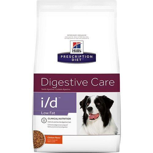 Hill's Prescription Diet i/d Digestive Care Low Fat Chicken Flavor Dry Dog Food 8.5 lb