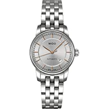 Mido Baroncelli II Automatic Silver Dial Ladies Watch M76004101