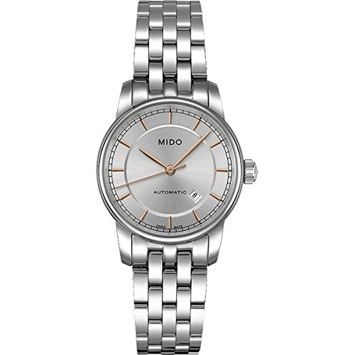 MIDO Women's Automatic Watch Baroncelli M76004101 with Metal Strap