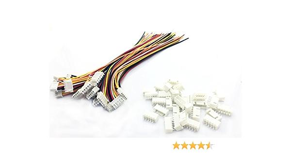 100 Sets vente JST-XH 4 S 5Pin 2.54 mm LiPo Balance Connector Plug Housing Model Radio Control