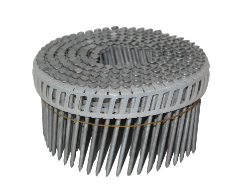 Anchor 212x092BPHDR 2-1/2-Inch by 0.092 Plastic Coil 15 Degree Ring Shank Hot Dipped Galvenized Siding Nails 4,800/Box