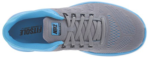 NIKE Women's Flex 2016 Rn Running Shoes Cool Grey/Black/Blue Glow/White footaction for sale clearance low price fee shipping new cheap online cheap sale manchester great sale 6IDlef