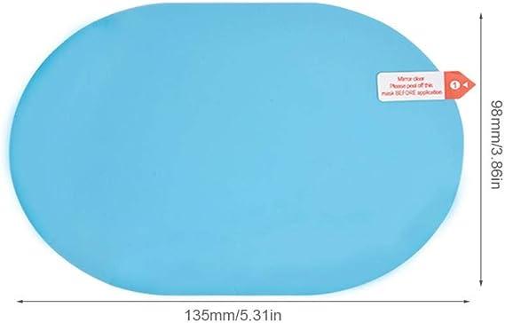 per Pel/ículas Espejos Retrovisores Anti-Lluvias para Coche L/áminas Anti-Niebla para Ventana Coche Multifuncional Pegatinas Impermeables Transparentes Universales