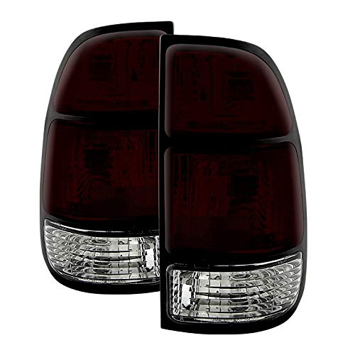 - Xtune for 2000-2004 Tundra Smoked Red Tail Lights Brake Lamps Assembly Direct Fit LH+RH Pair Left+Right 2001 2002 2003