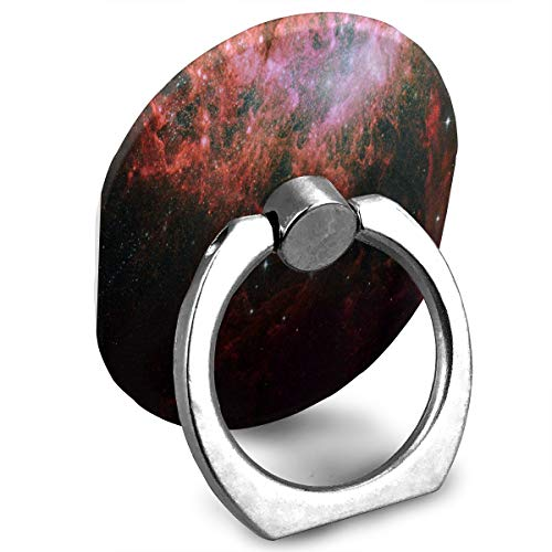 Phone Stand Starburst in A Dwarf Irregular Galaxy Ring Phone Holder Adjustable 360° Rotation Finger Grip Holder for IPad, Kindle, Phone X/6/6s/7/8/8 Plus/7, Divi, Accessories Desk, Android Smartphone (Adjustable Starburst Ring)