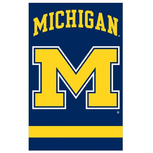Michigan College Applique - Party Animal Michigan Wolverines