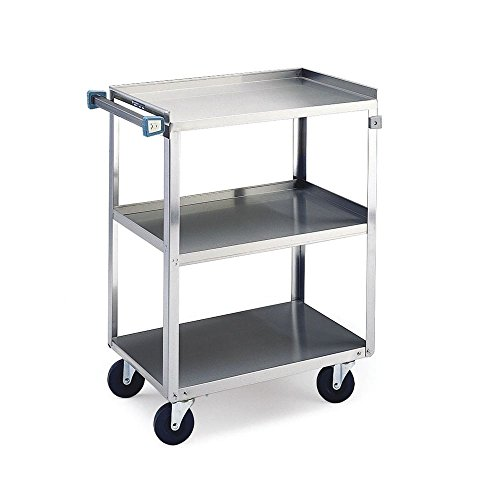 Lakeside 422 Stainless Steel Utility Cart; 500 Lb Capacity, 3 Shelf, 18″X27″