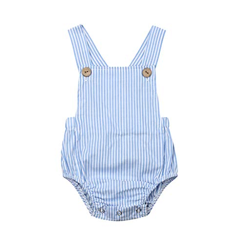 NUWFOR Toddler Baby Kids Girls Boys Sleeveless Solid