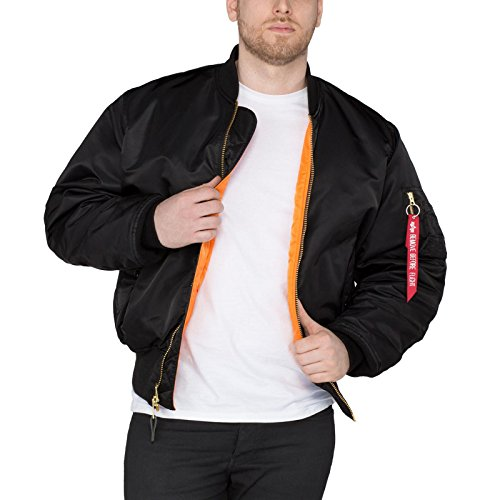 Industries Jacket Alpha Flying Ma1 Black fdwqO