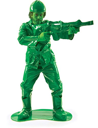 Toy Green Army Man Costume (And Gun) ()