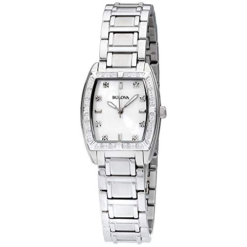 Bulova Women's 96R162 HIGHBRIDGE Diamond Bezel Watch ()