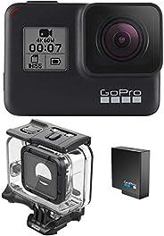 GoPro HERO7 - Carcasa de buceo negra + batería extra + Super Suit - Embalaje de comercio electrónico - Cámara