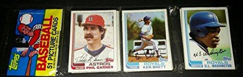 (1982 TOPPS BASEBALL RACK PACK - 1 PACK OF 51 CARDS)
