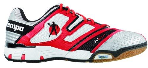Kempa Status 200843601, Herren Sportschuhe - Handball, Rot (rot/weiß/schwarz), EU 44.5 (UK 10) (US 10.5)
