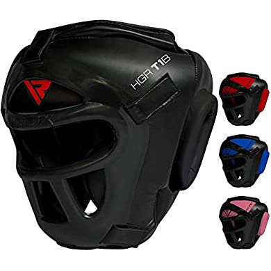 RDX-Head-Guard-Maya-Hide-Leather-Boxing-Headgear-MMA-Protector-Headgear-UFC-Fighting-Sparring-Helmet