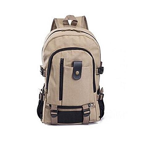 Vintage Canvas Men/'s Backpack Travel Sport Rucksack Satchel School Hiking Bag