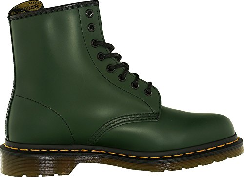 Lace Smooth Boot Green Martens Men's 1460 Up Dr qBfaw