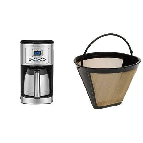 Amazon.com: Cuisinart dcc-3400 programable cafetera térmica ...