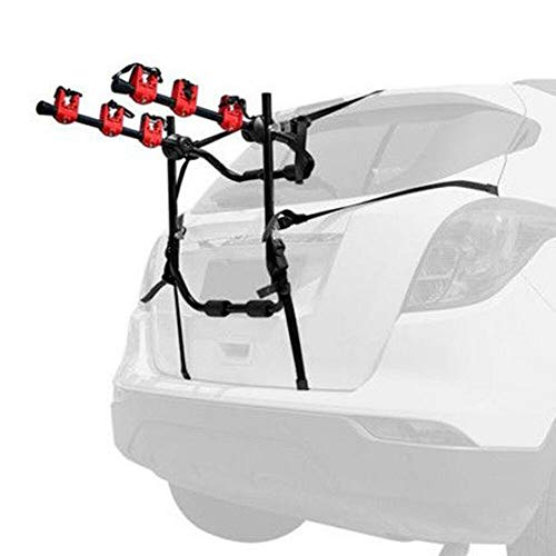 Eapmic 3 Bicycle Bike Rack Auto Hitch Mount Car SUV Truck Carrier Van for 3 Bikes