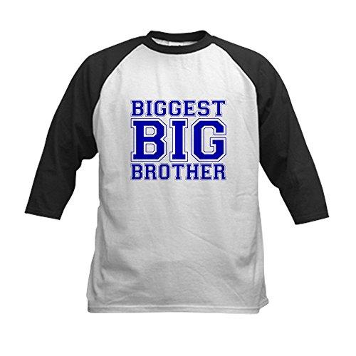 CafePress - Biggest Big Brother Kids Baseball Jersey - Kids