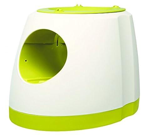 Fun Lanzador Máquina lanzapelotas de tenis medidas: 25 × 15 × 15 cm: Amazon.es: Productos para mascotas