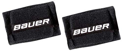 Bauer Hockey Slash Protection 4'' Wrist Guards, 2 Pack (Black) by Bauer
