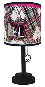 Monster High Die Cut Table Lamp
