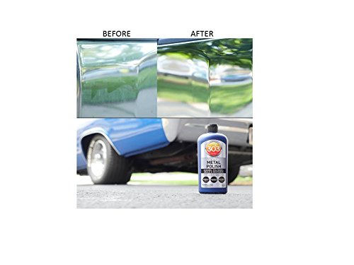 303 Metal Polish Cleaner Polish For Car Wheels Motorcycles Safe On All Metal Chrome Alloy Aluminum Stainless Steel Silver Copper Ultimate Shine Preventing Rust With A Never Dull Look