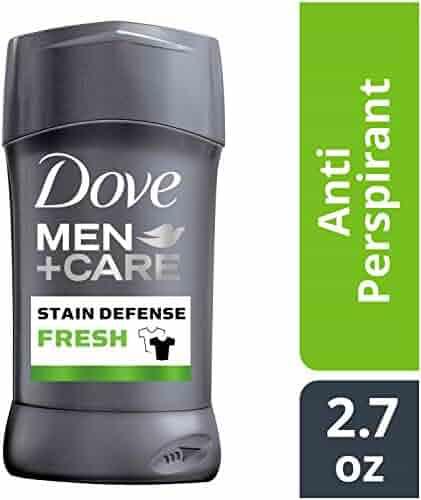 Dove Men+Care Stain Defense Antiperspirant Deodorant Stick, Fresh, 2.7 oz
