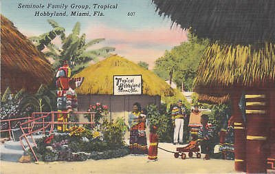 E4837 FL, Miami Tropical Hobbyland Postcard ()