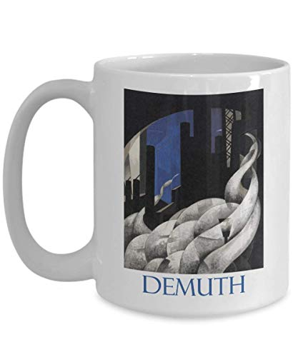 Incense of a New Church by Charles Demuth - Ceramic Coffee Mug